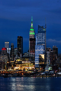 NYC - St Patrick's Day Green