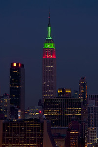 Empire State Building - Christmas