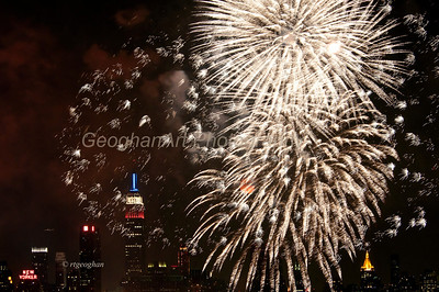NY City Macys July 4th Fireworks,