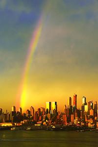 NYC-Spring Season's First Rainbow 2