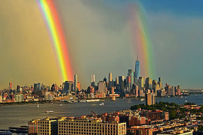 Double Rainbow NYC-NJ