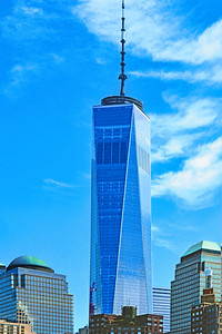 One World Trade Sky Blues