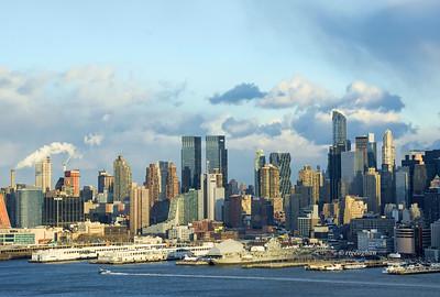 NY Skyline Hudson River