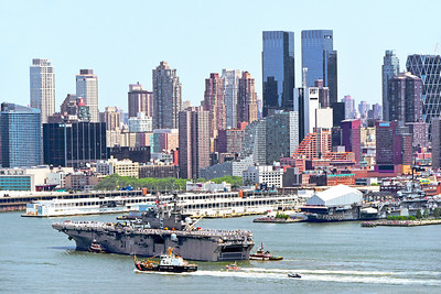 NYC Fleet Week 2016 -USS Bataan