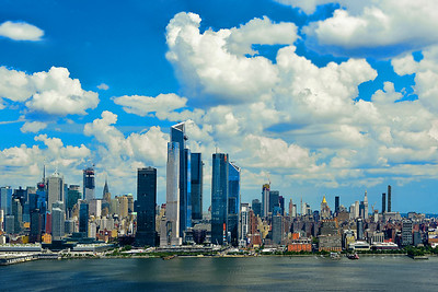 New York City Under Summer Skies