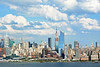 NY Skyline and Afternoon Clouds