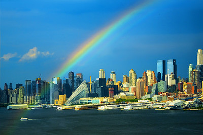 Rainbow Across the Hudson -NY-NJ