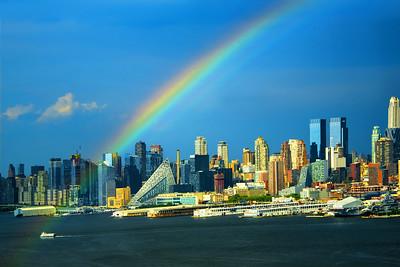 Rainbow Across the Hudson -NY-NJ