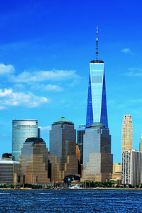 Sky Blues and One World Trade