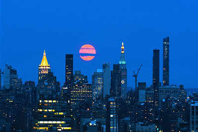 July Buck Moon over NYC
