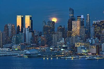 NYC-February Snow Moon
