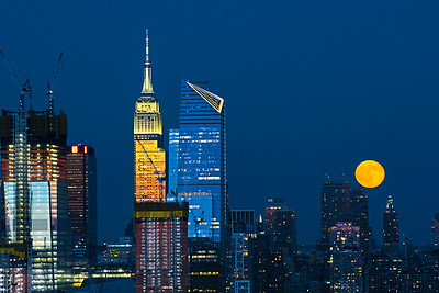 New York and JUly Full Moon