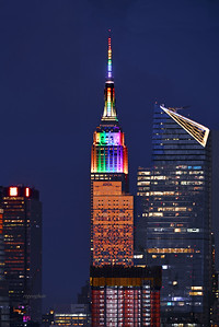 Empire State Building-PRIDE Colors