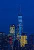 NYC One World Trade Night Lights