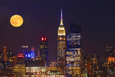 New York Full  Moon