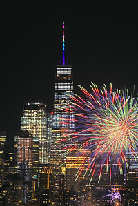 One World Trade-PRIDE Fireworks Display