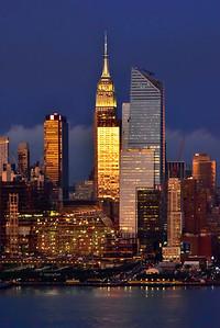 Empire State Building Sundown