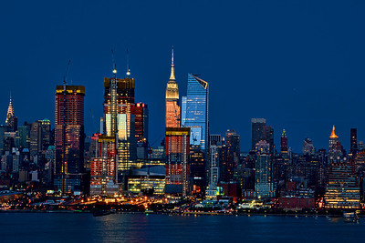 New York at Twilight
