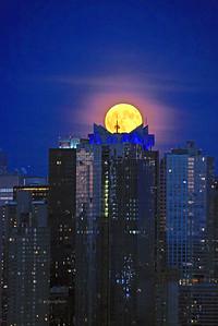 NYC Harvest Full Moon