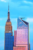 NYC Sundon in Blue and Pink