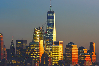 Lower Manhattan at Sundown