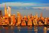 New York Midtown Sundown