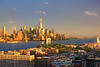 NY-NJ Hudson River Sundown