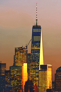One World Trade at Sundown