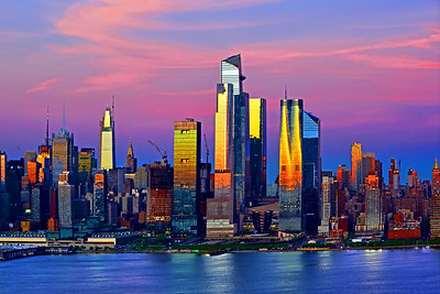 New York City  Sundown Transformation