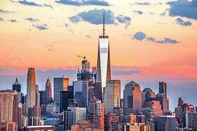NYC-One World Trade Sundown