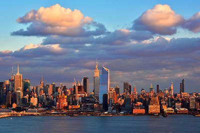 Manhattan Skyline at Sundown