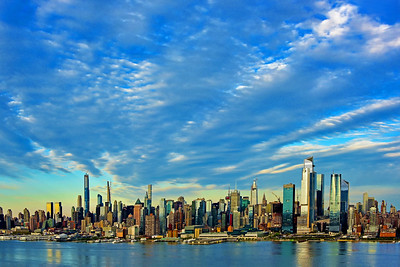 NYC under Big Skies