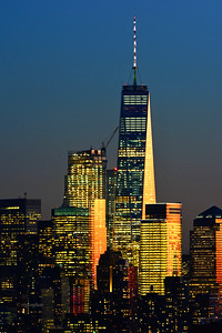 NYC One World Trade Sundown