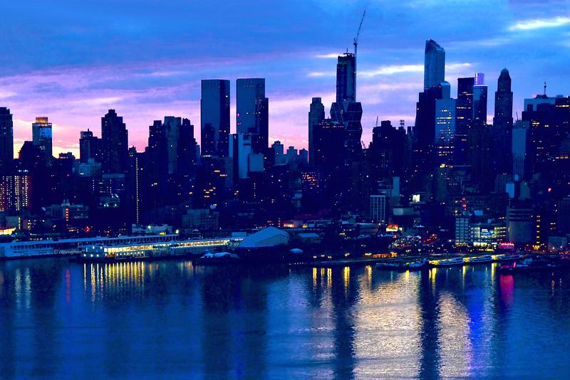 NYC West Side Daybreak