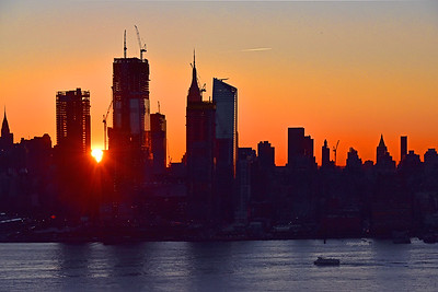 NYC Welcome Sunrise