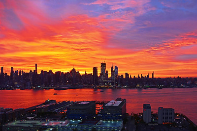 NY-NJ Magnificent Dawn
