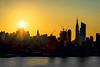 NYC-Hudson River Sunrise