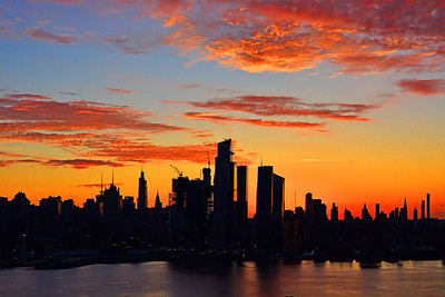 NYC Autumn Sunrise