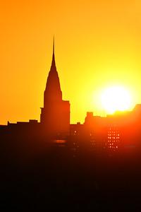 NYC-Chrysler Bldg Sunrise