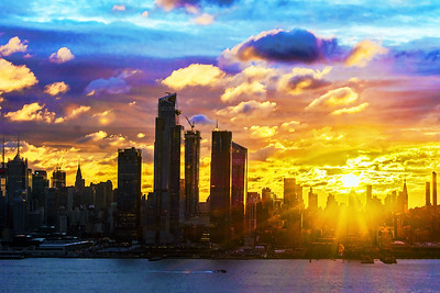 NYC Kaleidoscope Sunrise