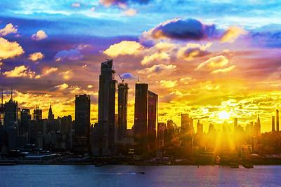 NYC Kaleidoscope Sunrise