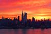 NYC Orangeglow Sunrise
