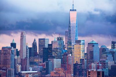 NYC-OneWorldTradeSundown