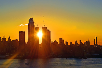 New York Sunstruck City