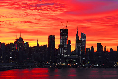 Dazzling New York Dawn