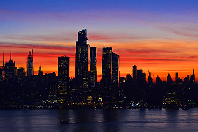 New York City Dawn Light