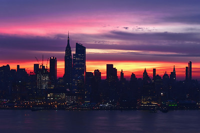New York Syline Dawn