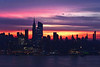 New York Syline Dawn