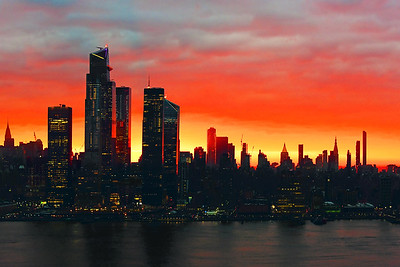 NYC Tri-color Sunrise