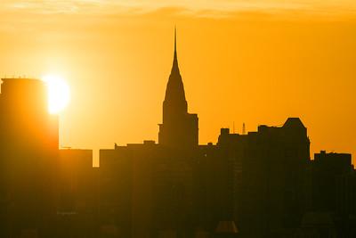 Sunrise NYC Chrysler Building